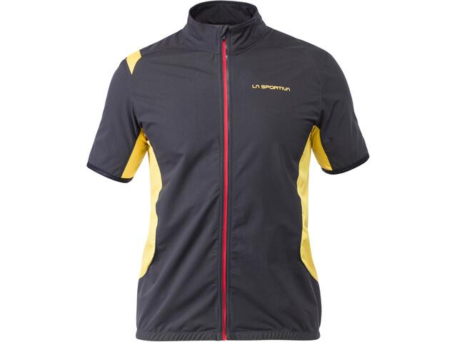 La Sportiva Mach bodywarmer Heren, black/yellow